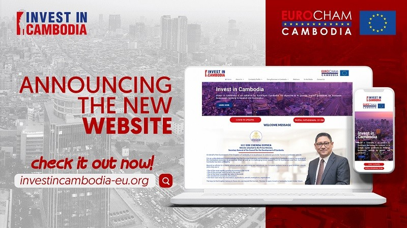 EuroCham Cambodia Launches New Website for Investment